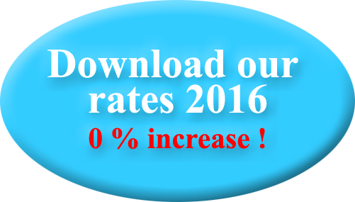 Our rates 2015